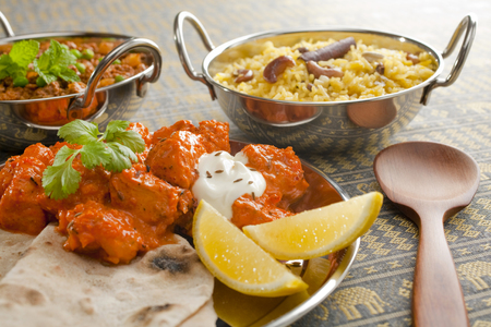Indian Meal or Banquet