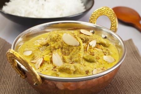 Indian Food Lamb Pasanda