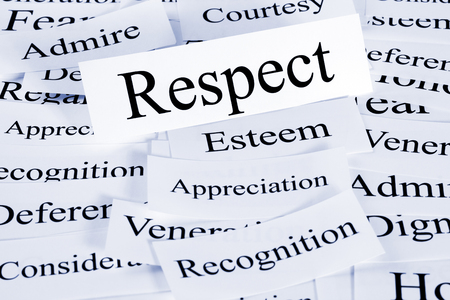 Respect Concept in Words