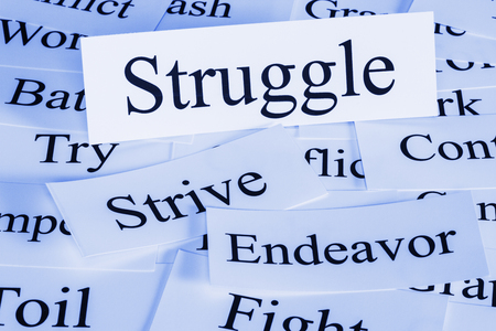 Struggle Concept in Words