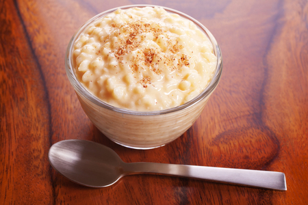 Rice Pudding with Nutmeg