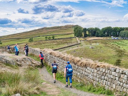 Hadrians Wall Path Northumberland UK