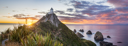 Sunrise Panorama at Nugget Point