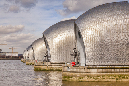 Thames Barrier, London - Redakční