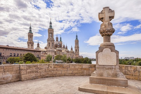 Basilique de Saragosse Espagne