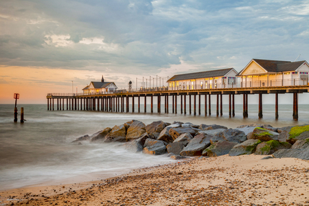 Southwold Pier at Sunrise, UK