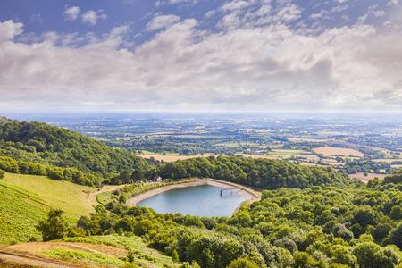 Malvern Hills, Hereford und Worcestershire, Großbritannien Standard-Bild