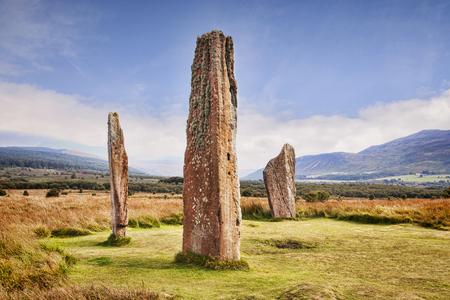 Machrie Moor Stone Circle Scotland, UK