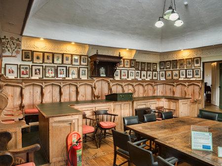 Totnes Guildhall Interior Devon UK
