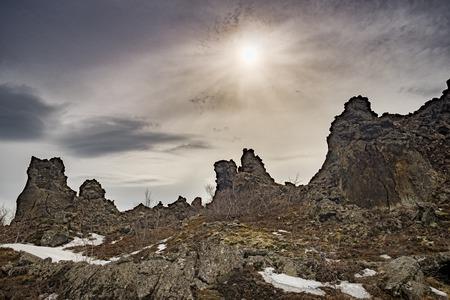 Lava Outcrops, Dimmuborgir, Iceland