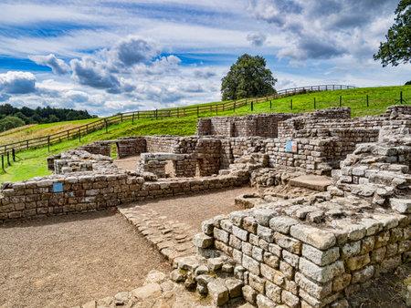 Chesters Roman Fort Northumberland UK