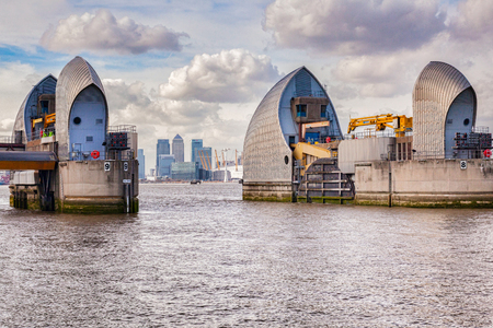 London Thames Barrier UK