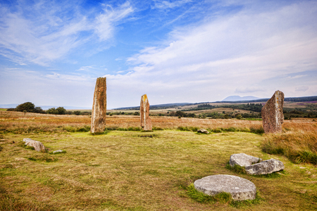 Machrie Moor Stone Circle Isle of Arran Scotland