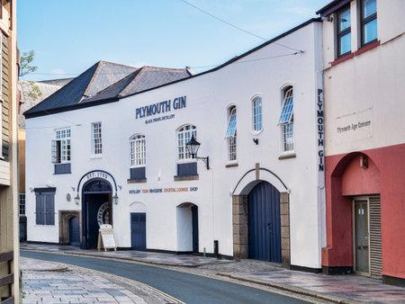 Plymouth Gin Distillery Devon UK