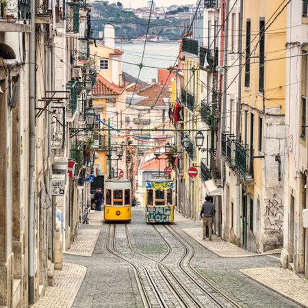 Bica Lift Lisbon Portugal