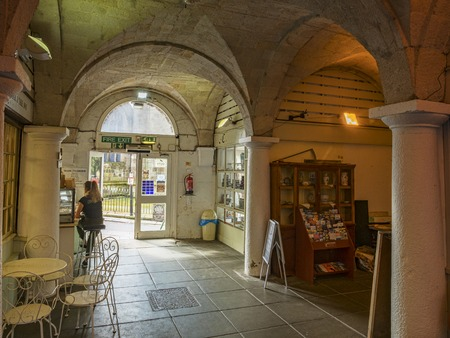 Interior St Austell Market House Cornwall UK