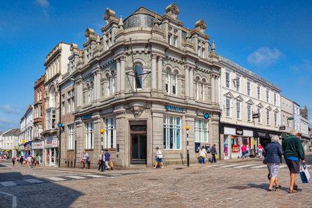 Truro Town Centre Cornwall UK