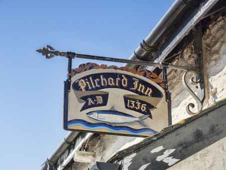 Pub Sign Pilchard Inn 1336