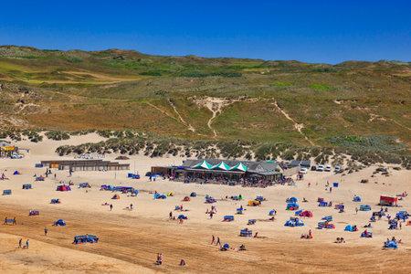 Perranorth Beach Cornwall UK