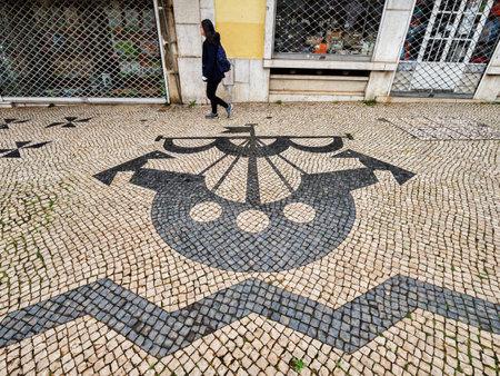 Portuguese Pavement Lisbon Portugal