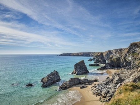 Bedruthan Steps, Cornwall