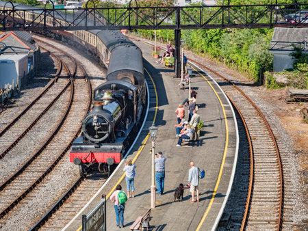 Steam Train at Kingswear, Devon