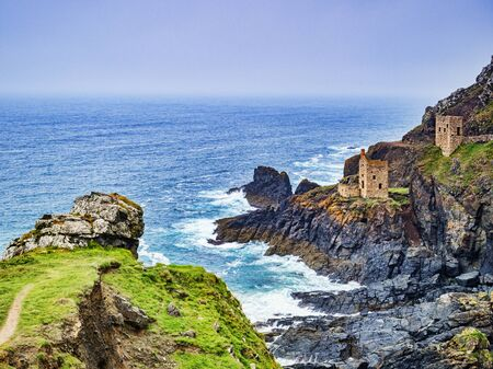 The Crowns Engine Houses Cornwall UK