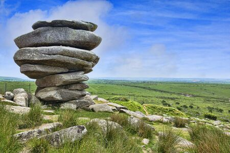 Cheesewring, Bodmin Moor, Cornwall, UK