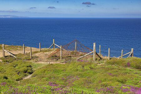 Abandoned Mine Shaft North Cornwall UK