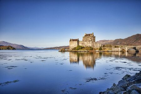 Morning, Eilean Donan Castle