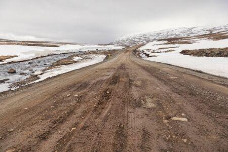 High Level Road East Iceland Archivio Fotografico