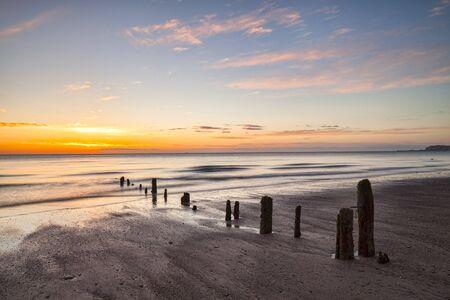 Dawn, Sandsend Beach, North Yorkshire