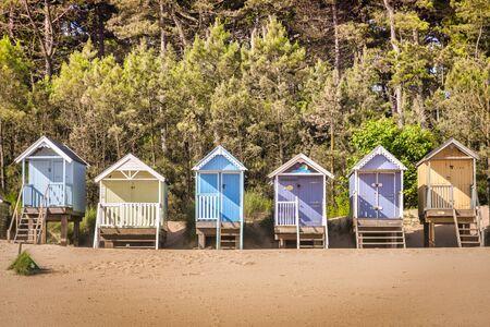 Beach Huts, Wells-Next-The-Sea, Norfolk
