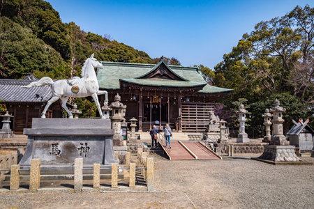 Katahara Shrine, Gamagori, Japan