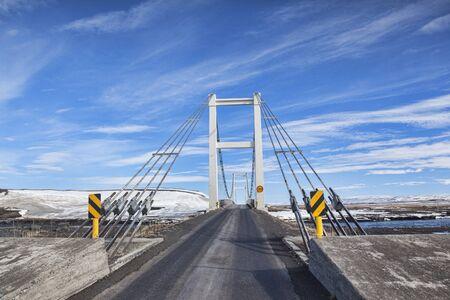 Single Lane Bridge on the Iceland Road