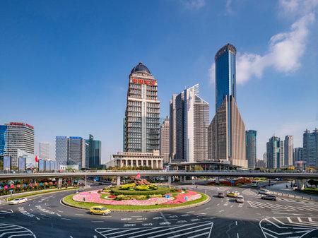 Mingzhu Roundabout, Pudong, Shanghai