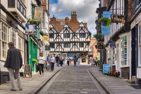 Lincoln, UK, Steep Hill and the Tourist Information Office