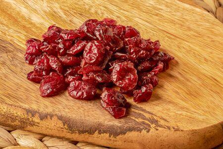 Cranberries on Mango Wood Board
