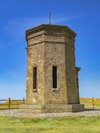 Compass Tower Bude Cornwall UK Archivio Fotografico - 134361555