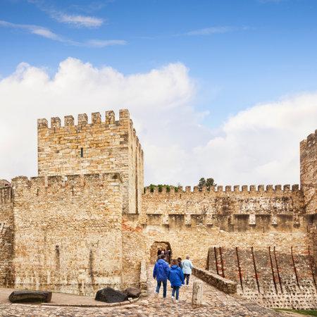 Castle of Saint George Lisbon Portugal