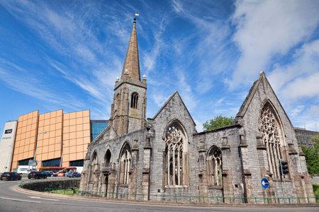 Plymouth Charles Church and Drake Circus