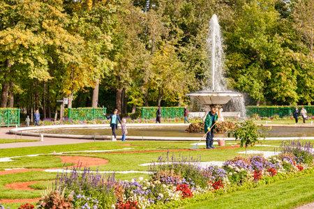 Peterhof Palace Garedns, St Petersburg, Russia