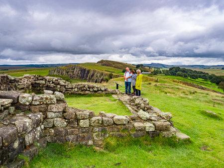 Hadrians Wall, Northumberland UK