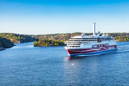 Viking Line Ferry Grace in Stockhom Harbour