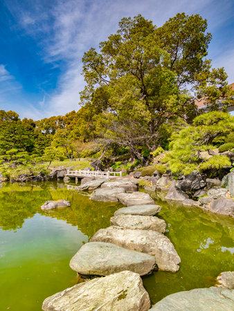 Stepping Stones, Kiyosumi Garden, Tokyo, Japan