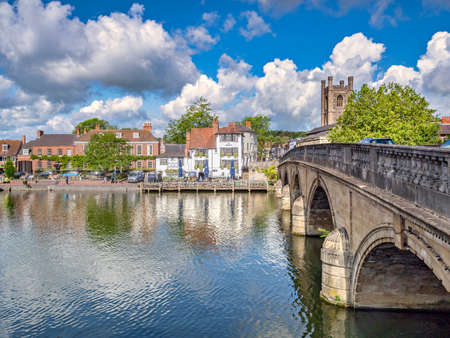 Ancient Bridge at Henley on Thames, UK