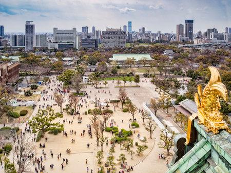 Osaka Castle View Editoriali