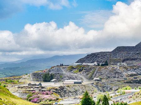 Blaenau Ffestiniog, Wales, Slate Mine