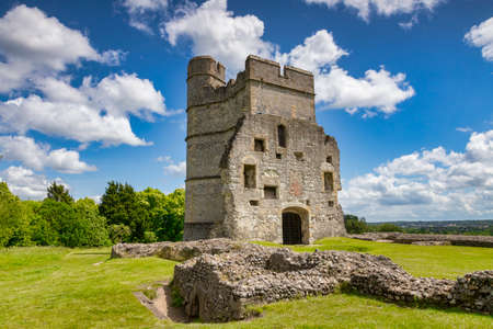 Donnington Castle. Newbury, Berkshire, UK