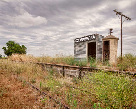 Old Coonawarra Station 免版税图像